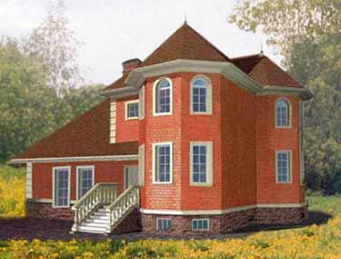Во первых фундамент у кирпичных домов должен быть гораздо крепче и прочнее.