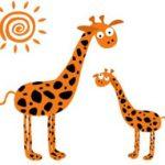 Английский, французский и смеющиеся жирафы