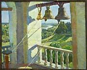 Колокольня Холст, масло. 2006г. ДУБОВИК Николай Николаевич